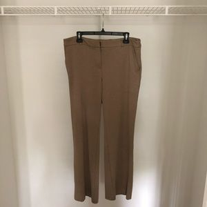 Brown Formal Pants